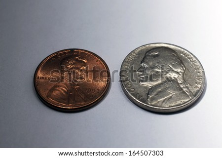 Spare Change - stock photo