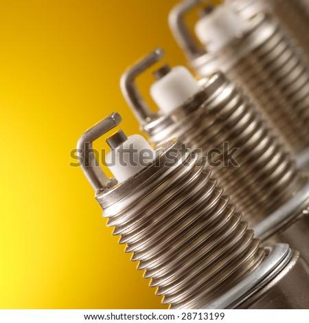 spark plug - stock photo