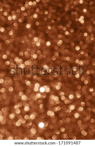 sparkle brown background - stock photo