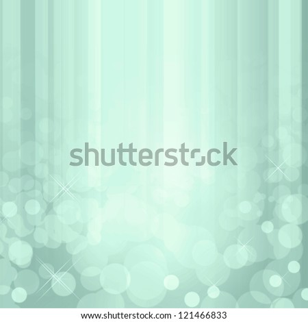 Sparkling blue waterfall effect background with white lights. - stock photo