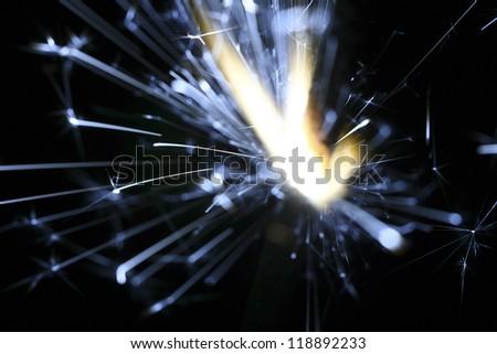 sparks - stock photo