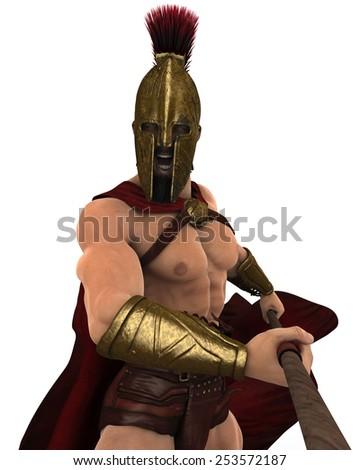 spartan - stock photo