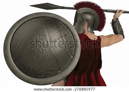 spartan soldierspartan soldier - stock photo