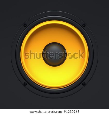 Speaker background - stock photo