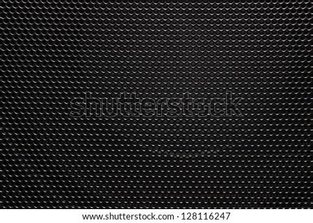 Speaker grill texture. - stock photo
