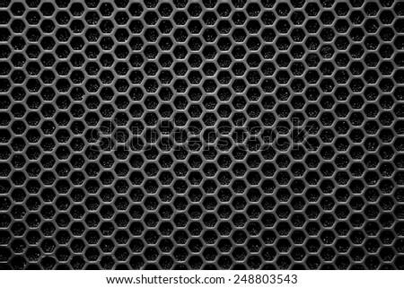 Speaker grille - stock photo