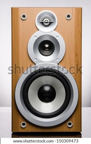 Speaker Isolated  - stock photo