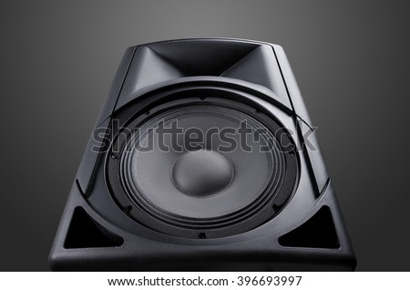 speaker. Music. Volume. concept - stock photo