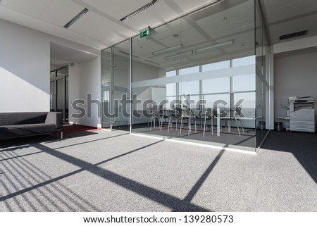 Special conference room in a business centre - stock photo