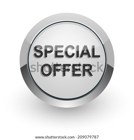 special offer internet icon - stock photo