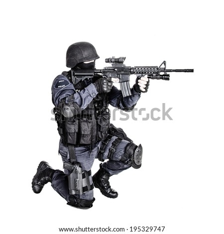 Stock Images similar to ID 178633394 - special weapons and ...