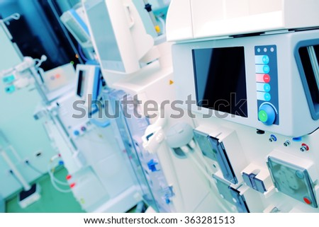Specialized equipment for medical institutions. - stock photo