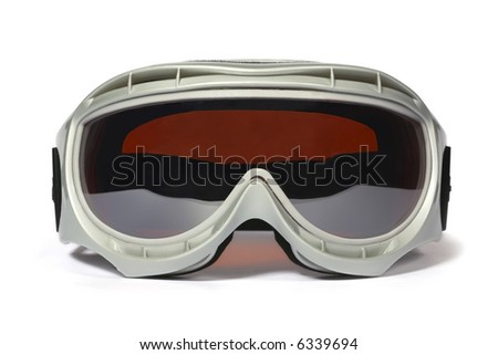 Spectacles of skiing with protection for the sun - stock photo