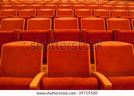 Spectators seats - stock photo
