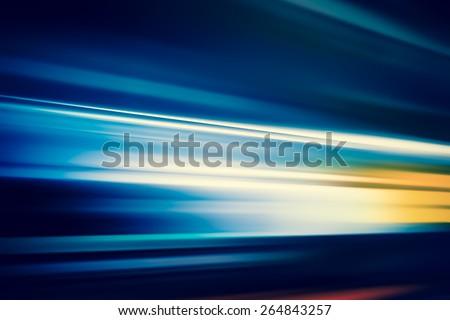 SPEED LIGHT - stock photo
