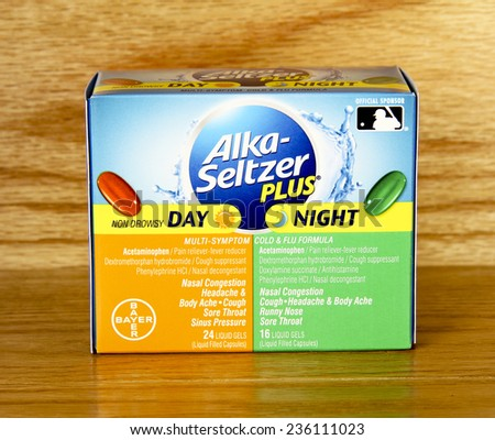 spencer wisconsin dec82014 box of alkaseltzer plus