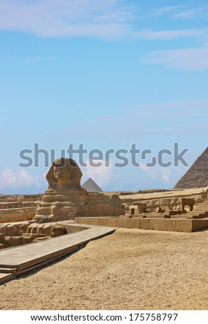 Sphinx Of Egypt  - stock photo