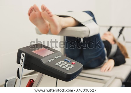 Spinal Decompression Therapy - stock photo