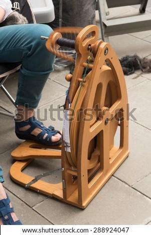 Spinner machine - stock photo