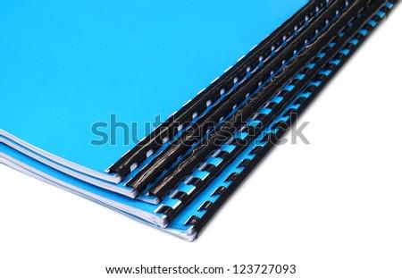 Spiral bound note books - stock photo