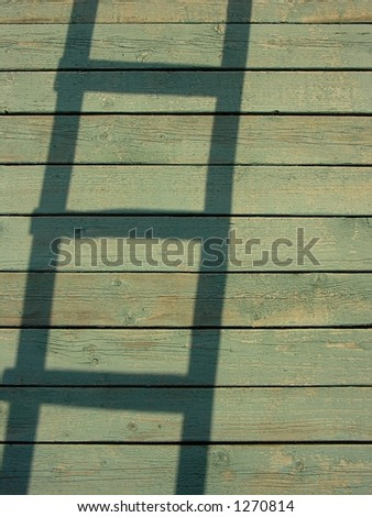 spirit of a stair - stock photo
