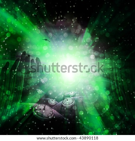 Spiritual Time - stock photo