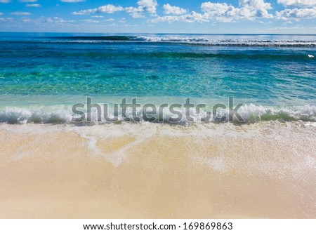 Splashing Sea Tide  - stock photo