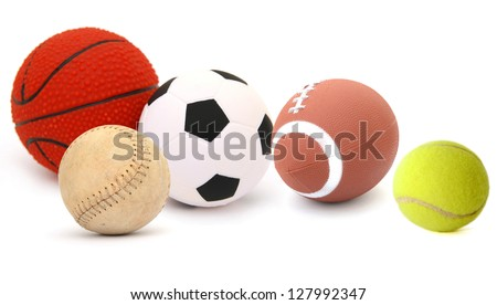 Sport ball games - stock photo