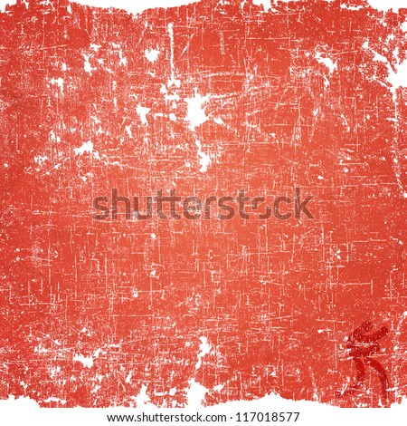 Sport boxing icon on old paper background and textured - stock photo
