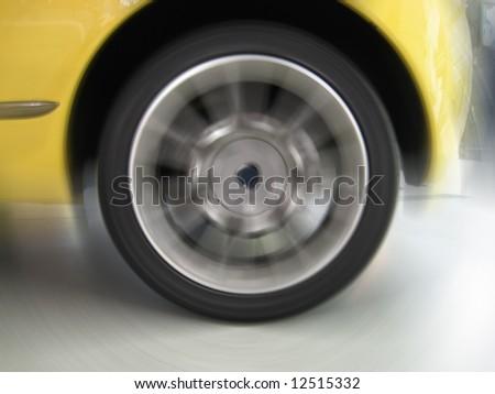 Sport car - stock photo
