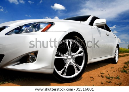 Sport car - stock photo