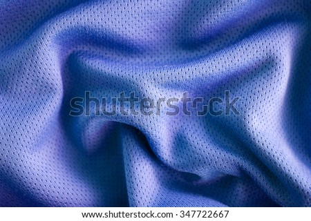 Sport clothing fabric texture background, top view of cloth textile surface - stock photo