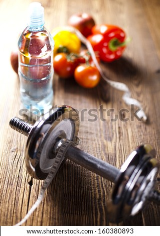 Sport diet - stock photo