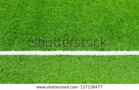 Sport grounds concept - Football - stock photo