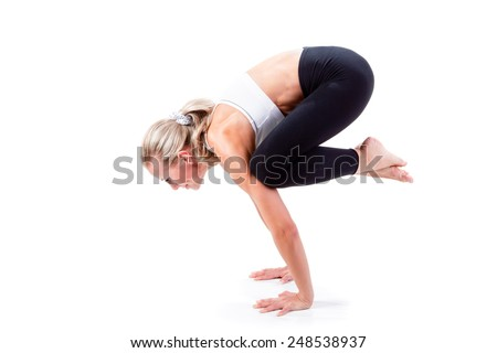 crow pose stock photos images  pictures  shutterstock