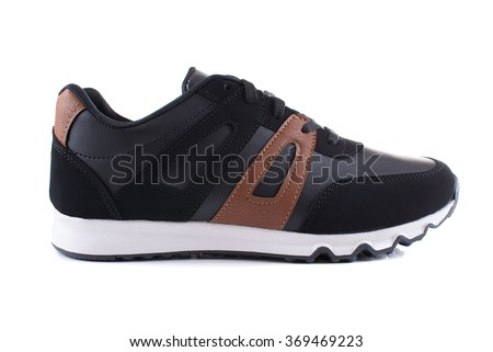 Sport shoe isolated - stock photo