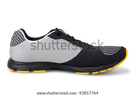 Sport shoe isolated on a white background - stock photo