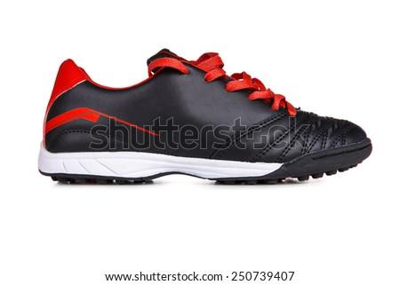 Sport shoe isolated on white background - stock photo