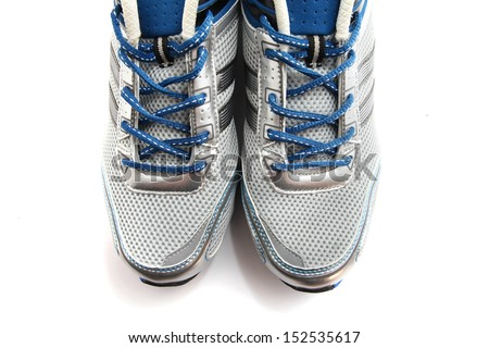 Sport Shoes isolated on white - stock photo