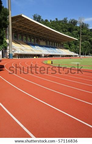 sport stadium - stock photo