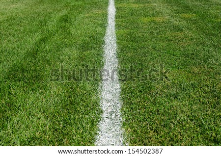 Sports Boundary - stock photo