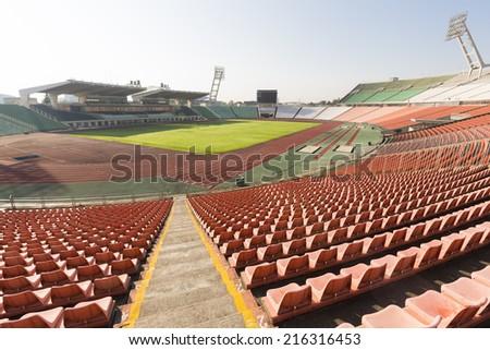 sports stadium - stock photo