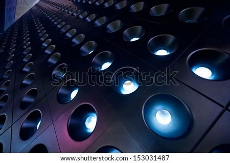 spotlights 03 - stock photo