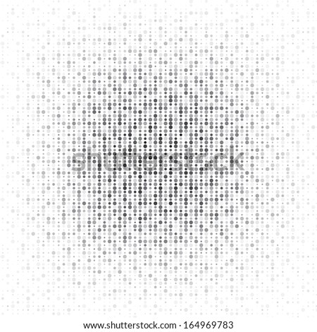 Spotted abstract background halftone effect - stock photo
