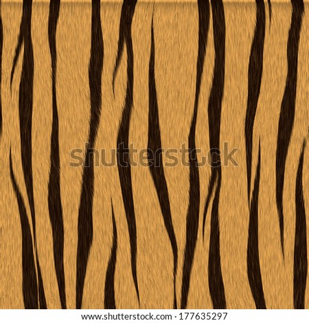 Spotted animal texture tiger - stock photo
