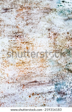 Spotted paper with nice watercolor paint, useful for element desig as wallpaper, texture and background - stock photo