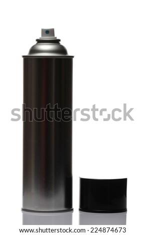 spray bottle, isolated on white background. - stock photo