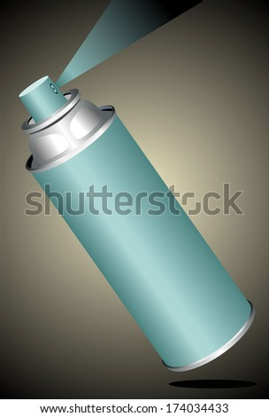 Spray can - stock photo