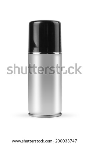 Spray with clipping path. - stock photo