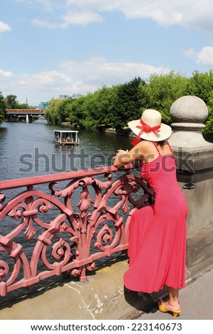 Spree View - stock photo